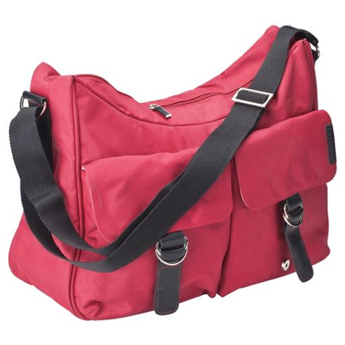 Koo-di Little Lifestyle Hobo Changing Bag, Red