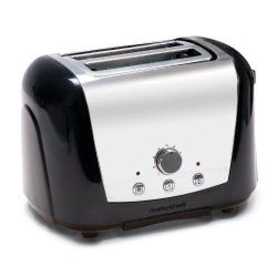 Morphy Richards 77-765 2 Slice Toaster - Black