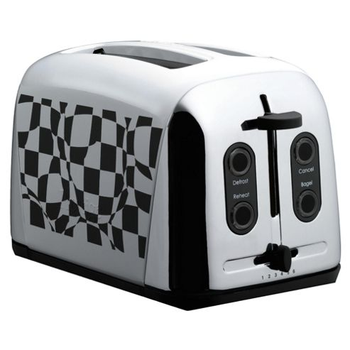 Prestige Checked Toaster Art Deco