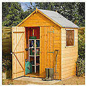 Rowlinson 4x6 Double Door Wooden Shed