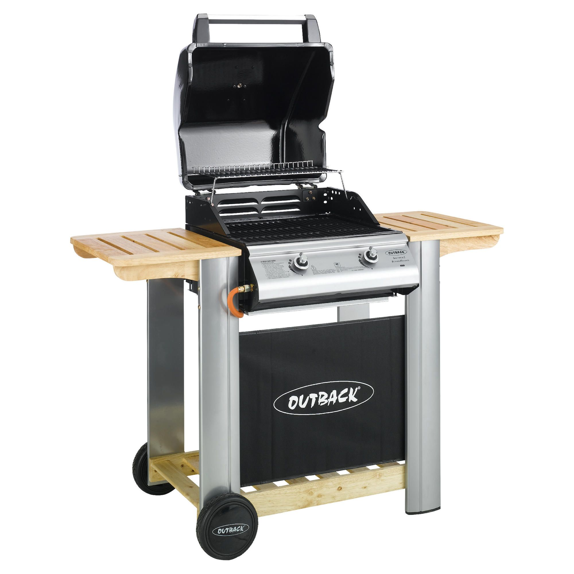 Outback Spectrum 2 Burner Gas BBQ with Cover at Tesco Direct