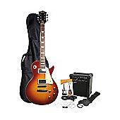 Rockburn LP Style Ultimate Guitar Pack - Sunburst