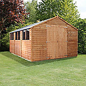 Mercia 15x10 Overlap Apex Shed
