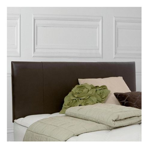 Silentnight Double Headboard, Chocolate