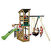 Little Tikes Buckingham Climb Slide `n? Sand Play Swing Set