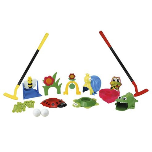 Tesco Crazy Golf Set