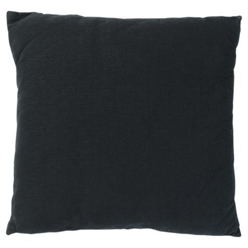 buy tesco large basic cushion black from our cushions. Black Bedroom Furniture Sets. Home Design Ideas