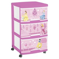 Disney Princess 3 Drawer Tower