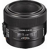 Sony SAL50M28 50mm F2.8 Macro Lens