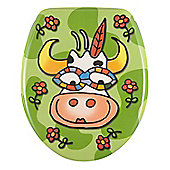 Wenko Crazy Cow Toilet Seat
