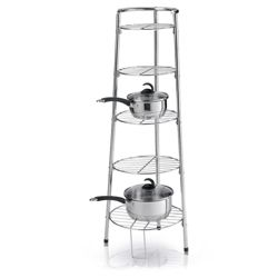 Axis by Imperial International Axis 5-Tier Pan Stand