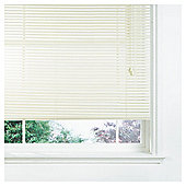 Wood Venetian Blind, 25Mm Slats, Pure Chalk 150Cm