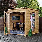 Mercia 8 x 8 Corner Summerhouse