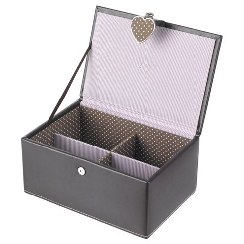 LC Brown Small Jewellery Box