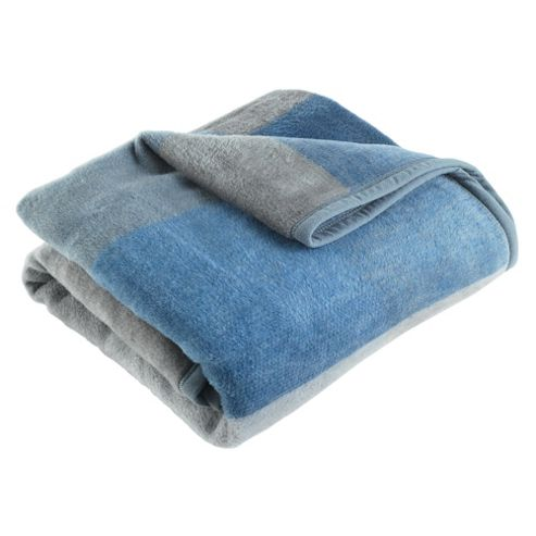 Biederlack Didas Thermosoft Square Throw, Blue
