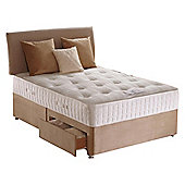 Sealy Purity Pocket Ortho Single 2 Drawer Divan Bed