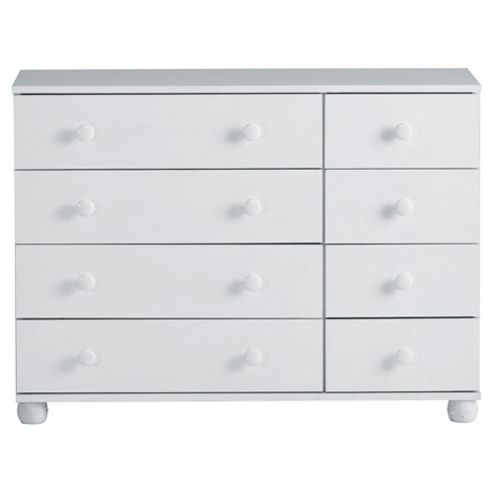 Addison 8 Drawer Chest, White