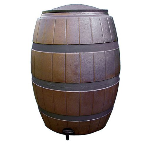 Sankey Brown Barrel Water Butt 113L