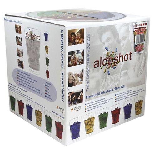 Alcoshot Starter Kit, Mixed Fruit