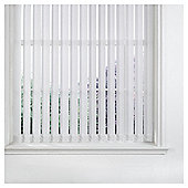 Vertical Blind White W122Xdrop137Cm