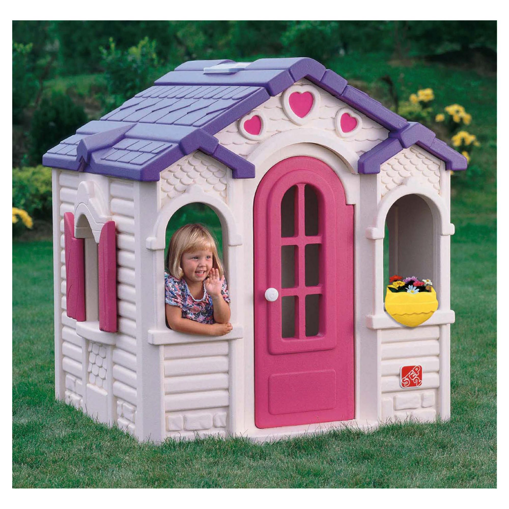 Step2 Sweet Heart Playhouse at Tesco Direct