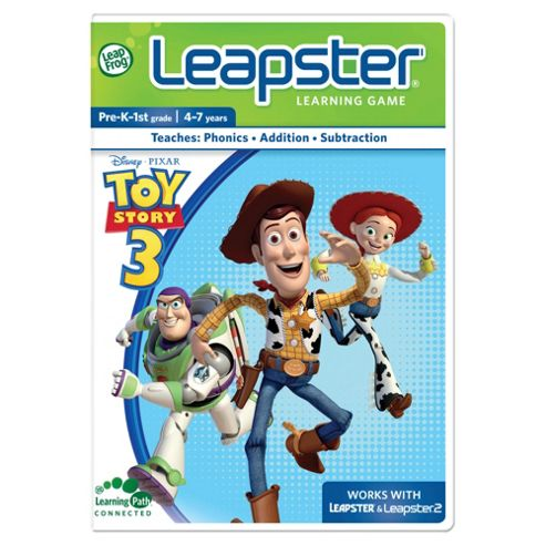 LeapFrog Leapster Toy Story 3 Learning Game