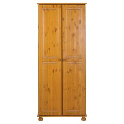 Home Essence Balham Two Door Wardrobe in Pine