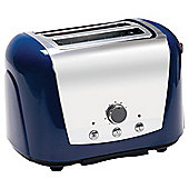 "Morphy Richards ""77-760\"" Stainless Steel 2 Slice Toaster - Blue"