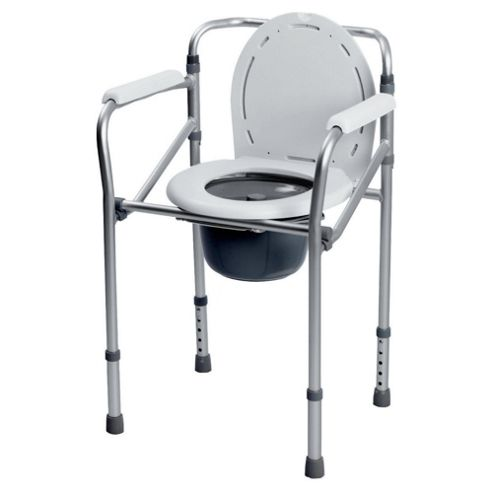 Adpatable Folding Mobile Commode