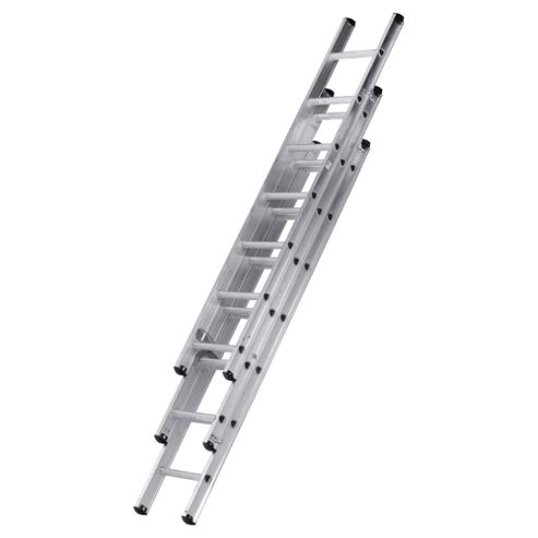 Abru 2M Compact Professional Triple Extension Ladder, 42002