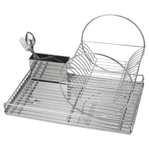 2 Tier Simple Stainless Steel Drainer