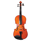 Windsor 3/4 Size Student Violin: Includes Lightweight Zipped Case With Shoulder Strap M-1014