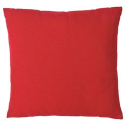 Tesco Large Basic Cushion, Red