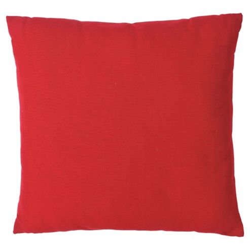 buy tesco large basic cushion red from our cushions range. Black Bedroom Furniture Sets. Home Design Ideas