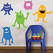 Monster Mash Giant Wall Stickers