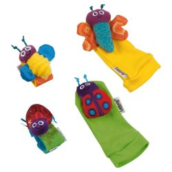 Lamaze Garden Bug Foot Finder & Wrist Rattle