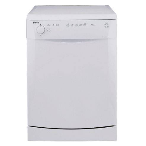 Beko DWD5411 Full Size Dishwasher, A Energy Rating. Black