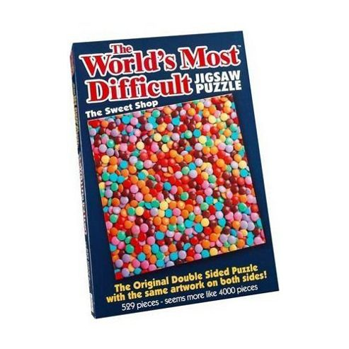 Worlds Most Difficult Puzzle Sweet Shop