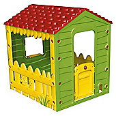 Starplast Plastic Playhouse, Green/Yellow