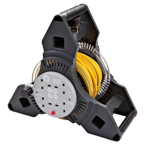 SMJ 20m 4 Way Tripro Cable Reel