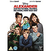 Alexander & the Terrible, Horrible, No Good, Very Bad Day - DVD