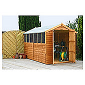 Mercia 10x6 Overlap Apex Shed