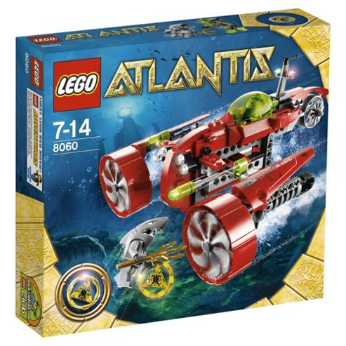 LEGO Atlantis Typhoon Turbo Sub 8060