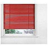 Sunflex Aluminium Venetian Blind, Red Gloss 120Cm