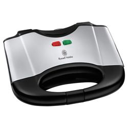Russell Hobbs 17936 2 Slice Toaster - Black and Silver