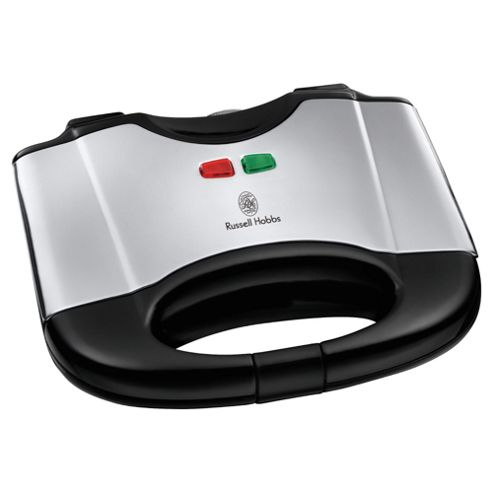 Russell Hobbs  17936 2 Slice Sandwich Toaster - Black & Silver