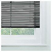 Sunflex Aluminium Venetian Blind, Black Gloss 60Cm
