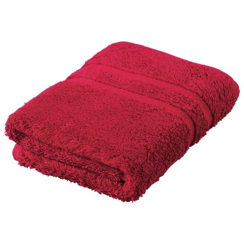 Tesco Hand Towel, Red