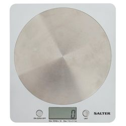 Disc Electric Scales Silver