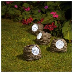 Solar Rock Light 4pk